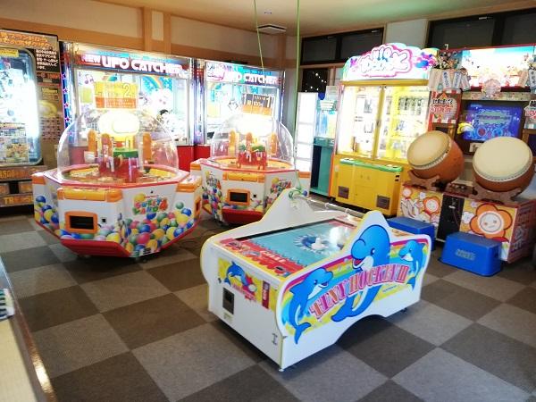 天然温泉 三峰のゲームセンター