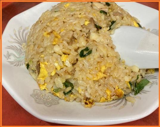 台湾ラーメン 光陽のピリカラにんにく炒飯
